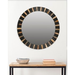 Safavieh Deco Faux Tigers Eye 29-inch Mirror