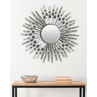 Safavieh Handmade Arts and Crafts Silver 36-inch Sunburst Mirror