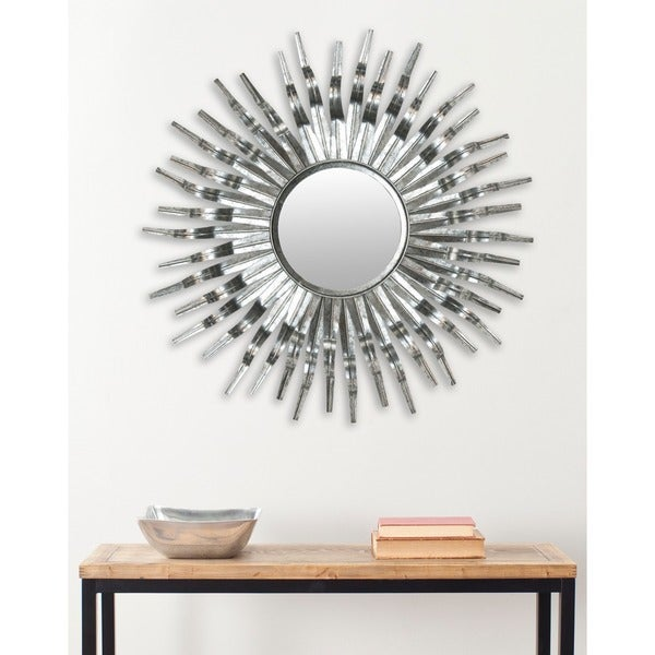 Safavieh Handmade Arts And Crafts Silver 36 Inch Sunburst