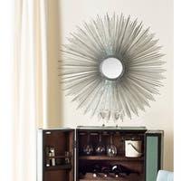 Safavieh Radiant Silver 41-inch Sunburst Mirror - Antique Silver