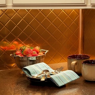 Gold Tile Overstock Com Shopping Floor Backsplash