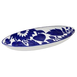 Le Souk Ceramique Jinane Design Extra Large Oval Platter