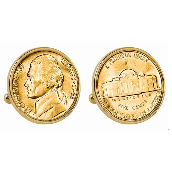 American Coin Treasures Gold Plated Silver Jefferson
