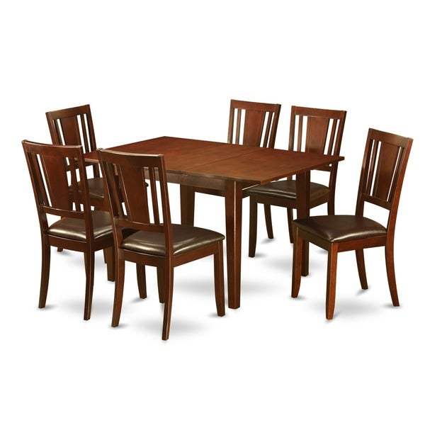 Kitchen Table And 6 Chairs: Shop 7-piece Kitchen Nook Table And 6 Dining Chairs