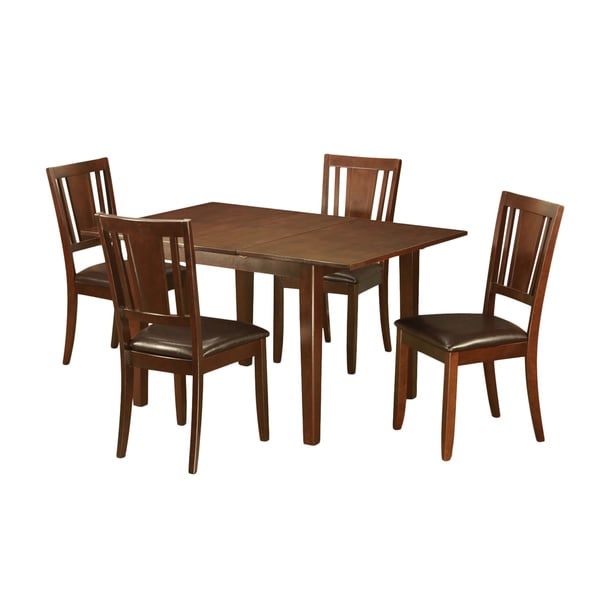5 piece Dinette Set with Table and 4 Kitchen Chairs Free