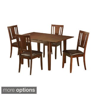 5-piece Dinette Set with Table and 4 Kitchen Chairs