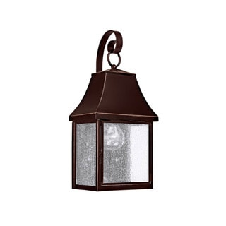 Capital Lighting Collins Hill Collection 1-light New Bronze Outdoor Wall Lantern