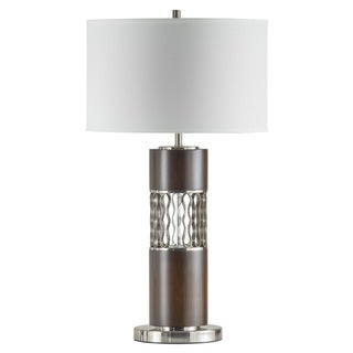 Curls Linen Table Lamp