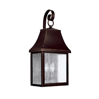 Capital Lighting Collins Hill Collection 3-light New Bronze Outdoor Wall Lantern