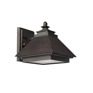 Capital Lighting Dark Sky 1-light Burnished Bronze Outdoor Wall Lantern
