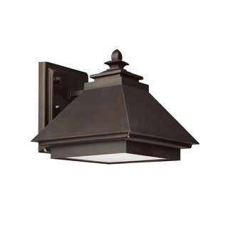 Capital Lighting Dark Sky Collection 1-light Burnished Bronze Outdoor Wall Lantern