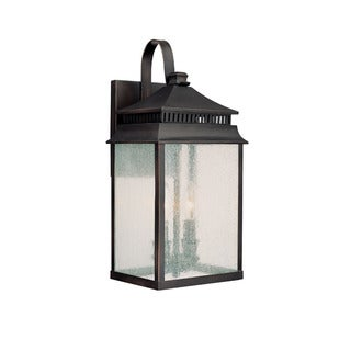 Capital Lighting Sutter Creek Collection 2-light Old Bronze Outdoor Wall Lantern