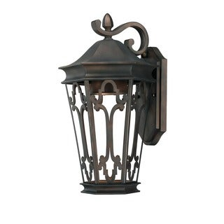 Capital Lighting Dark Sky Collection 1-light Old Bronze Outdoor Wall Lantern
