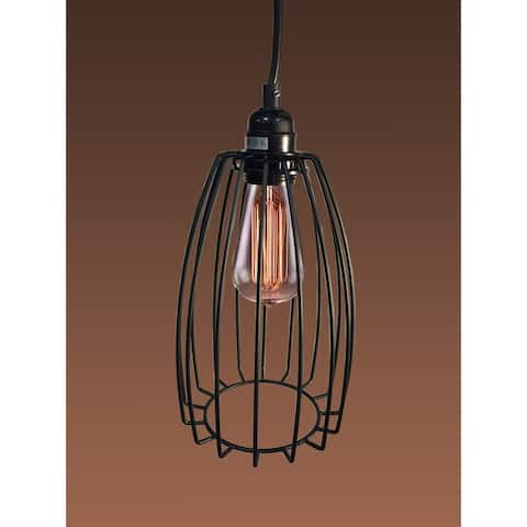 Xena Adjustable Height 1-light Edison Pendant
