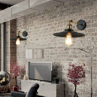 Dorothy 1-light Black Edison Wall Sconce with Light Bulb