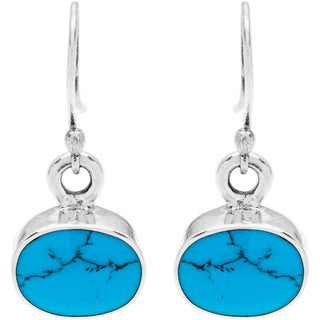 Kele& Co Blue Dangling Earrings