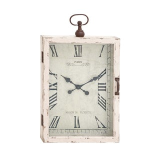 Antique Off-white Table Clock