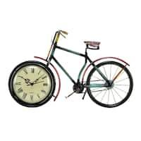 Copper Grove Chatfield Bicycle Design Desk Clock