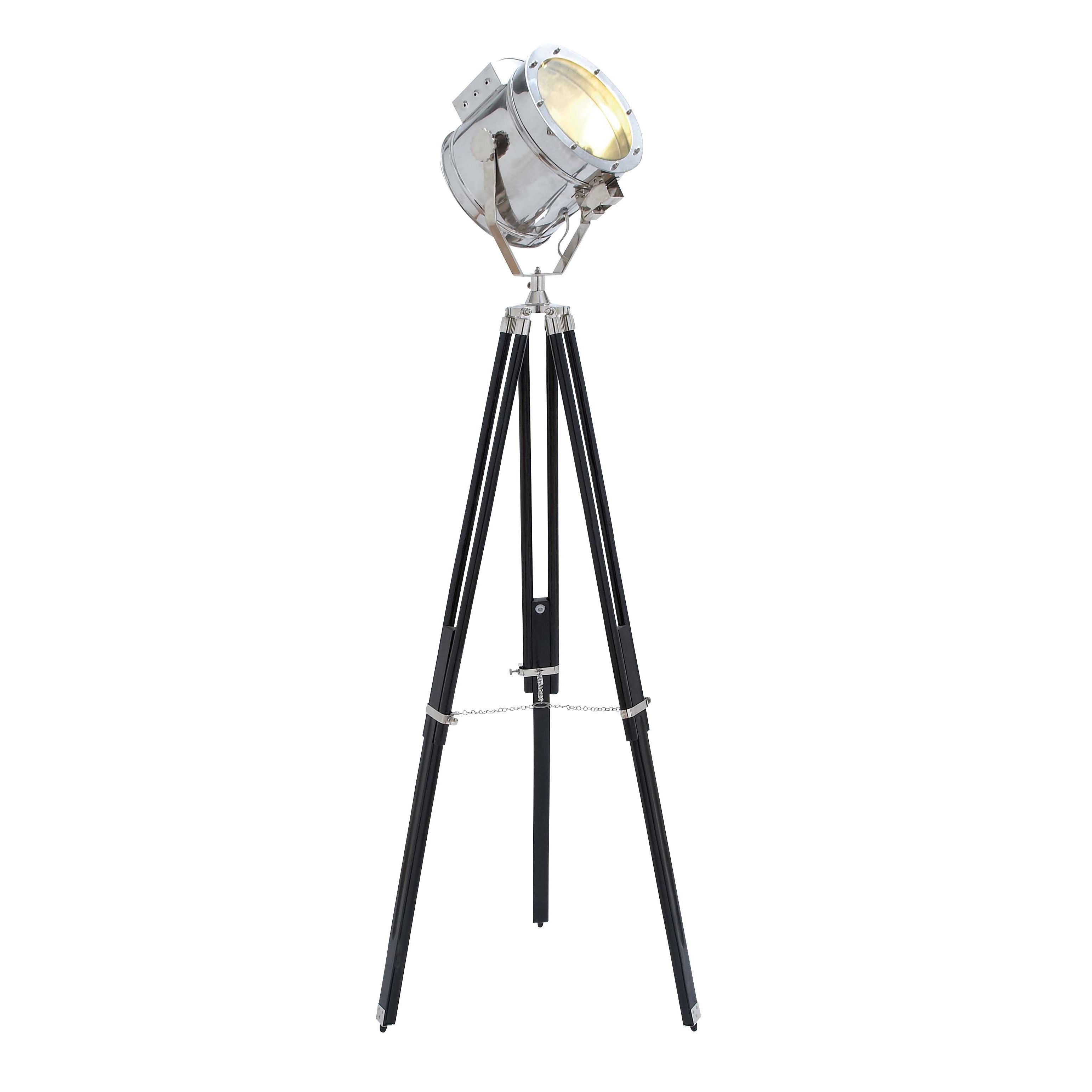 Aluminum Studio Spotlight Floor Lamp