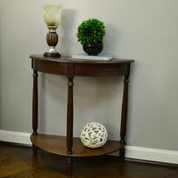 Laurel Creek Edmond Half Round Table