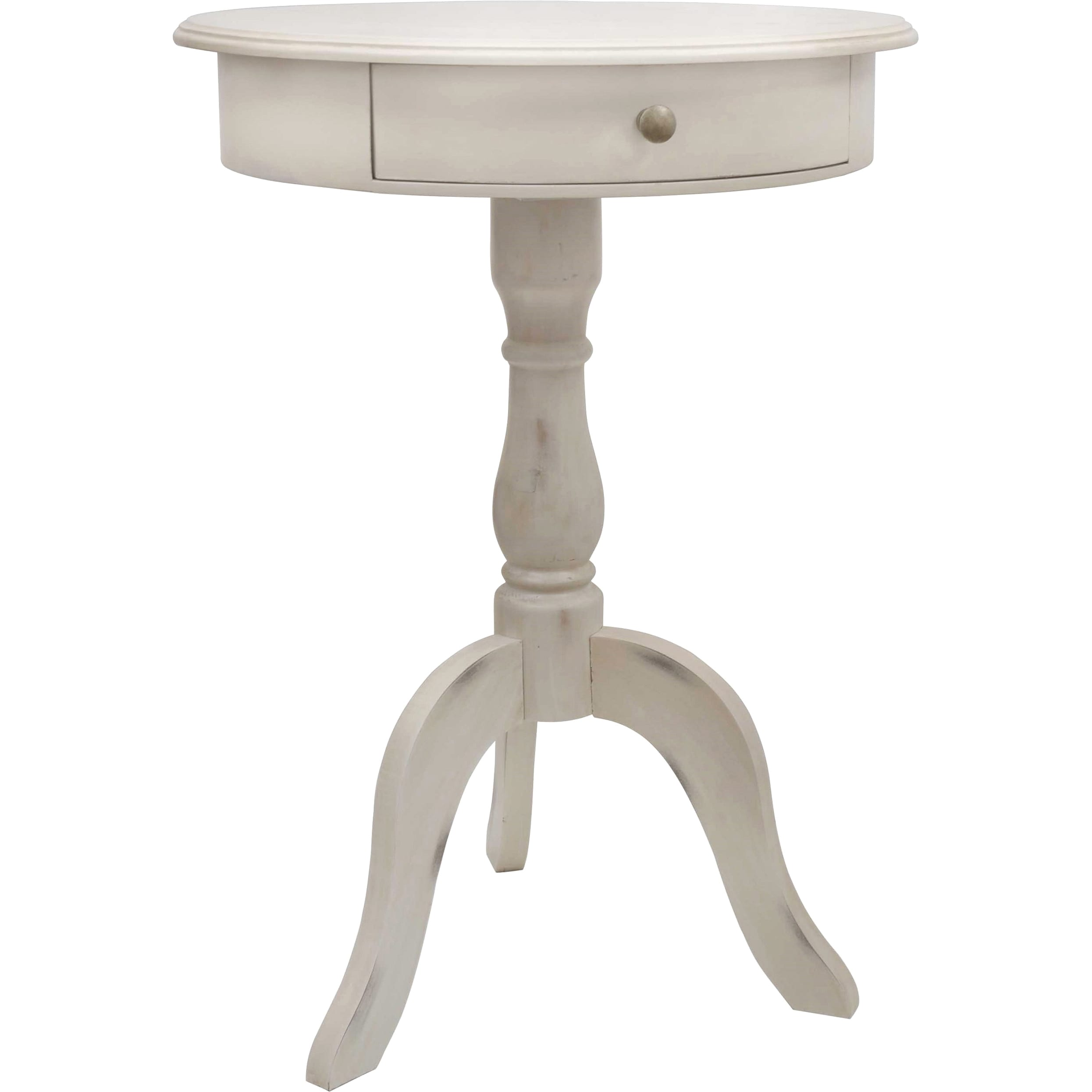 Shop Maison Rouge Fontaine One Drawer Pedestal Table