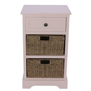 Montgomery One Drawer, 2 Basket Accent Chest