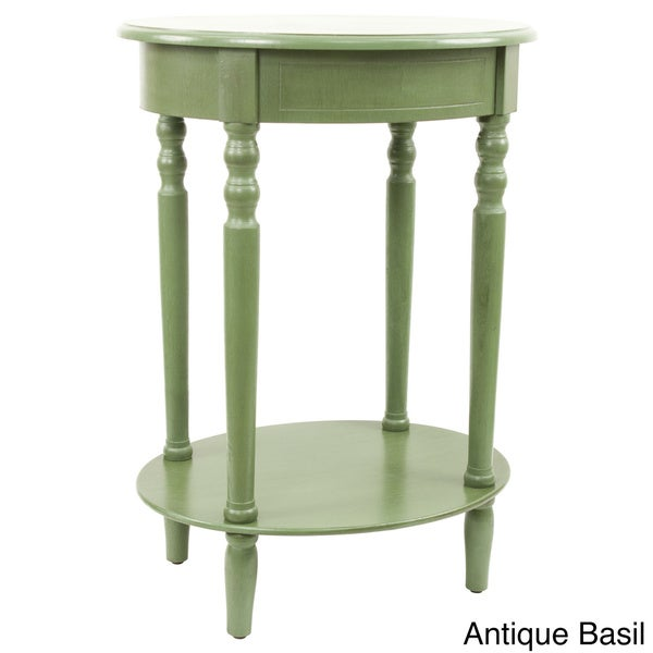Simplify Oval Accent Table   Free Shipping Today   Overstock.com   17431269