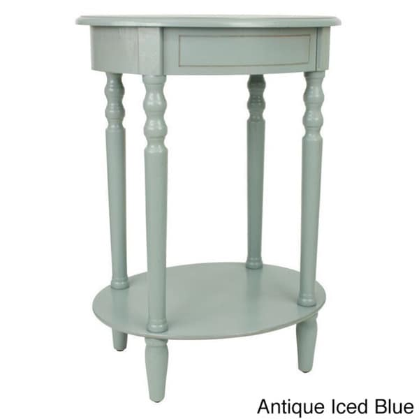 Nice Simplify Oval Accent Table   Free Shipping Today   Overstock.com   17431269