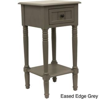 Maison Rouge Provins One Drawer Square Accent Table (5 options available)