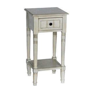 Simplify One Drawer Square Accent Table