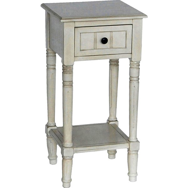 Simplify One Drawer Square Accent Table - Free Shipping Today ...