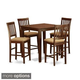 3-piece Counter Height Table Set-Gathering Table Set and 2 Kitchen Counter Chairs