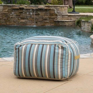 Christopher Knight Home Peyton Outdoor Sunbrella Lounge Beanbag Chair