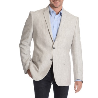 Daniel Hechter Men's Light Grey Linen Sport Coat