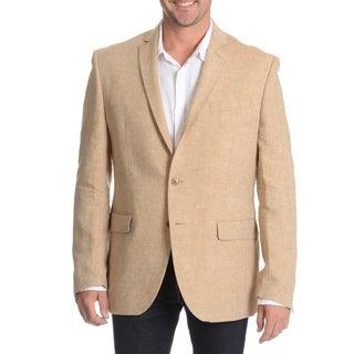 Daniel Hechter Men's Tan Linen Sport Coat (As Is Item)