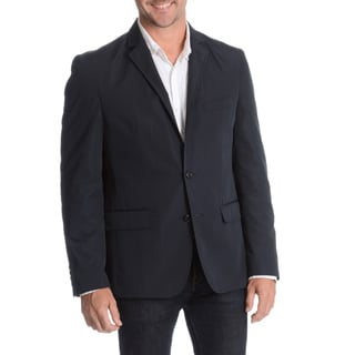 Daniel Hechter Men's Navy Slim Fit Packable Jacket with Bag