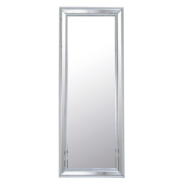 white leaning floor mirror. Exellent Mirror Abbyson Venice Rectangle Studded Leaning Floor Mirror Throughout White