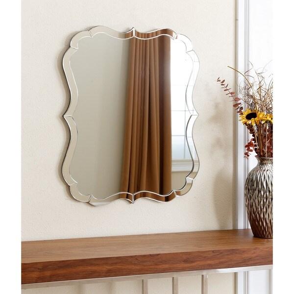 Abbyson Olivia Rectangle Wall Mirror Free Shipping Today