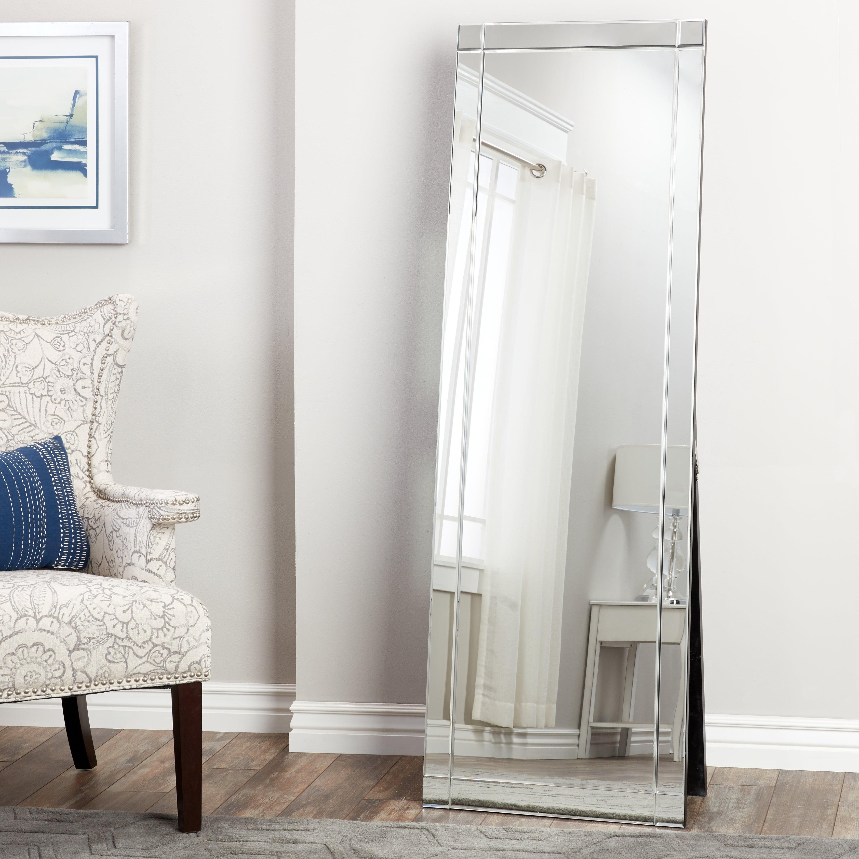 Glam Standing Full Length Floor Mirror