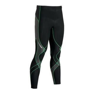 Men's CW-X Insulator Stabilyx Tights Black/Grey/Green