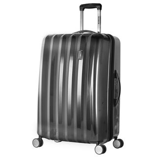 Olympia Titan Black 29-inch Hardside Spinner Upright Suitcase