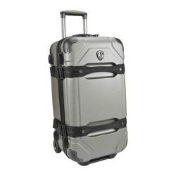 Traveler's Choice Maxporter Silver 24-inch Rolling Cargo Trunk Upright Duffel/ Suitcase