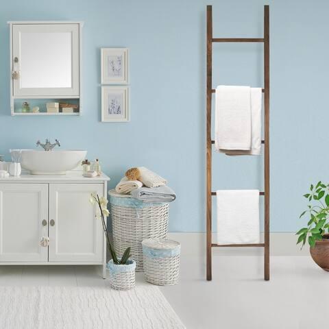 American Trails Solid Walnut Decorative Ladder