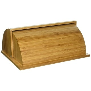 Home Basics Bamboo Bread Box
