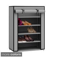 Sunbeam 5-tier Shoe Closet Rack