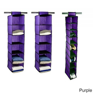 Home Basics 3-piece Closet Organizer Set, Sweater and Shoe Rack