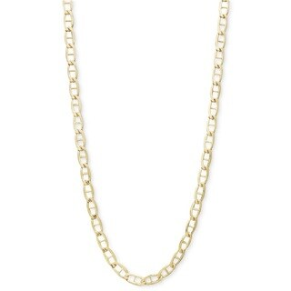 Pori 10k Yellow Gold Marina Chain Necklace