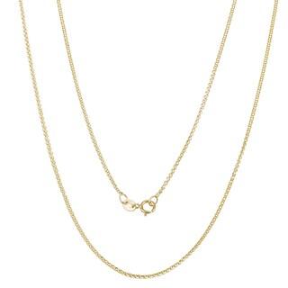 Pori 10k Yellow Gold Valentino Chain Necklace
