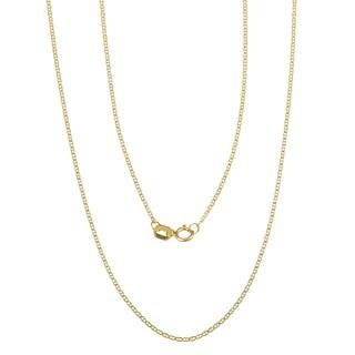 Pori 14k Yellow Gold Marina Chain Necklace