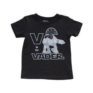 V Is For Vader Star Wars Toddler T-Shirt